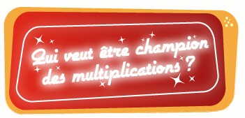 Apprendre les tables de multiplication m thode ludique for Methode apprentissage table de multiplication
